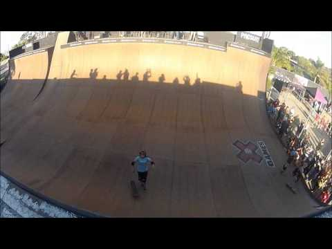 Alana Smith pulls first female 540 in Skateboard competition