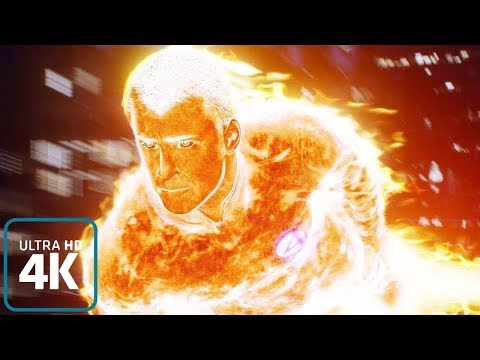 Human Torch: All Powers from the films