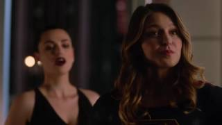 Supergirl 2x05 Ending Scene Cadmus Head is Lena Luthor's Mom Lillian Luthor - Part #18
