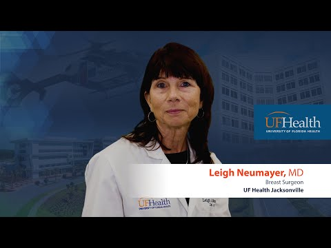 Breast surgery at UF Health Jacksonville by Dr. Leigh Neumayer