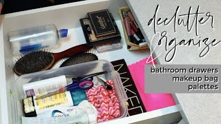 BATHROOM DRAWER DECLUTTER | Organize & Declutter With Me | THIS OR THAT