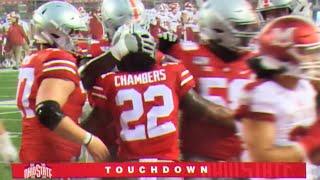 Steele Chambers First Career TD run // Ohio State vs. Miami Touchdown