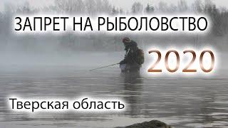 Запрет ловли в тверской области во время нереста