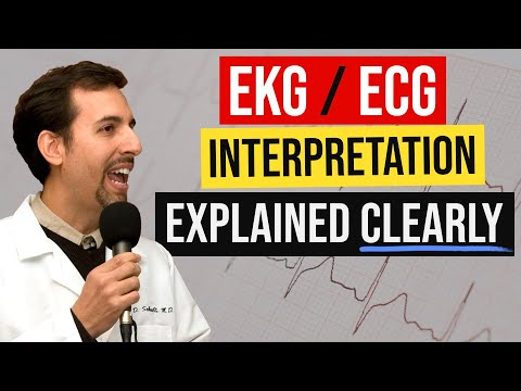 ECG Interpretation Made Easy - How to Read a 12 Lead EKG ...