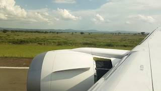 preview picture of video 'Landung Kilimanjaro airport'