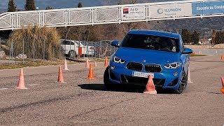 Vídeo   BMW X2 - Esquiva y eslalon