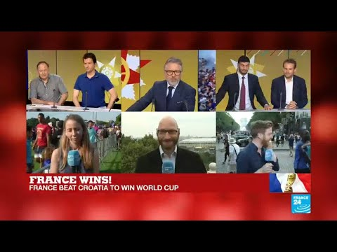 World Cup 2018: Fans celebrate in the Champs-Elysees