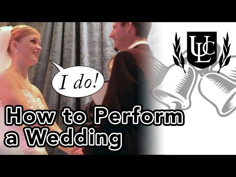 How to Perform a Wedding Ceremony (In 4 Simple Steps!) - YouTube