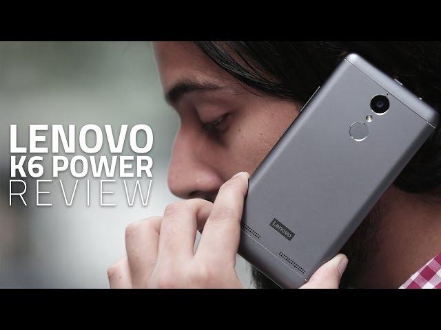Lenovo K6 Power Review | NDTV Gadgets360 com