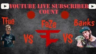 Ninja vs tfue sub count