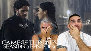 Game of Thrones Season 3 Episode 9 'The Rains of Castamere' REACTION!!