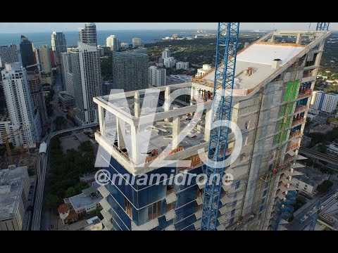 Drone Technology Gets Unique Shots Of Brickell City Centre Progress