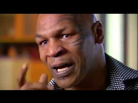 MIKE TYSON intense interview moment