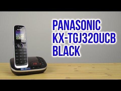 Радиотелефон Panasonic KX-TGJ320UCB черный - Видео