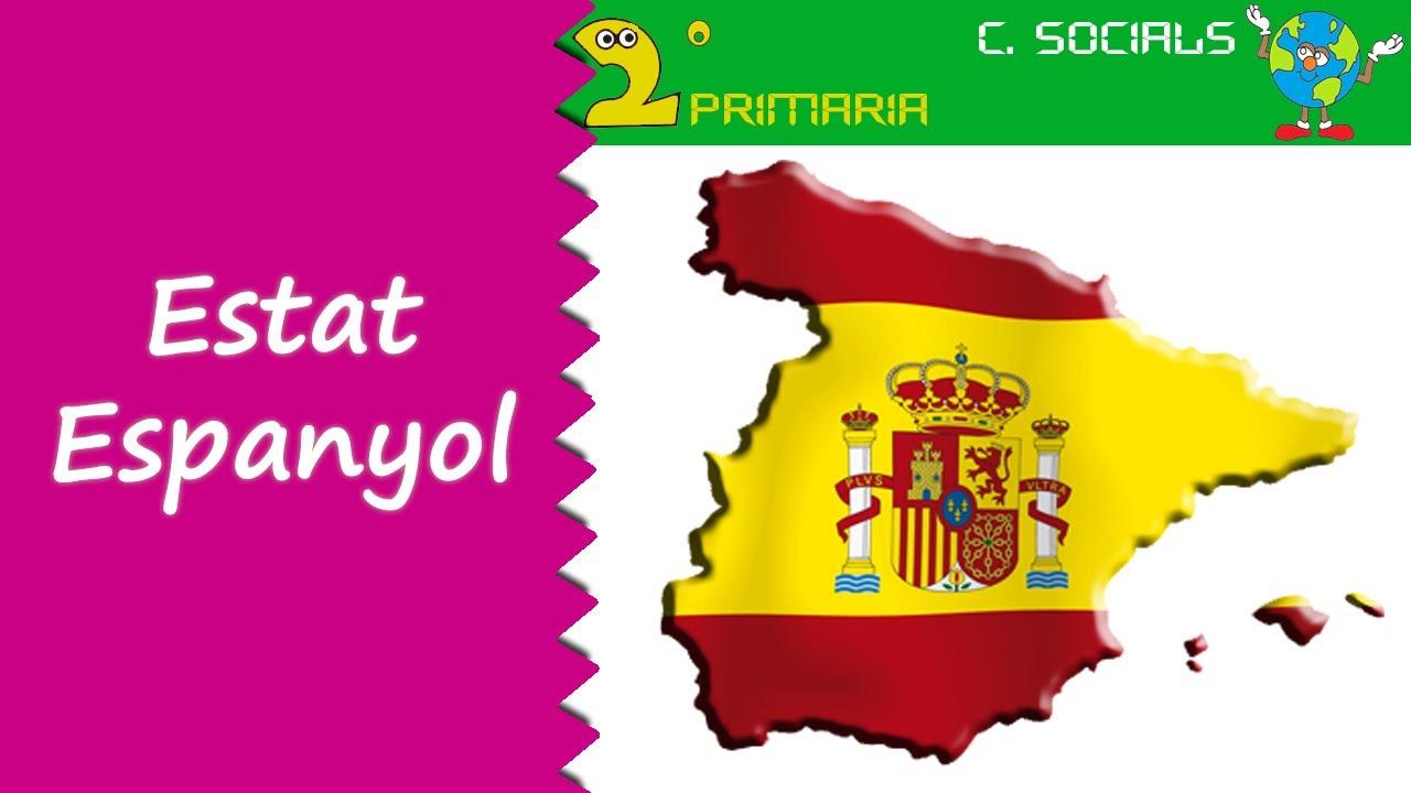 Ciències Socials. 2n Primària. Tema 2. L'estat espanyol