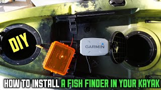 How To Install A Garmin Striker 4 In Your Kayak DIY!