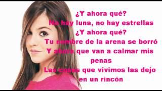 Y Ahora Qué? - Danna Paola - Lyrics