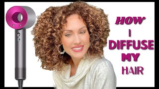 HOW I DIFFUSE MY CURLY HAIR   The Glam Belle