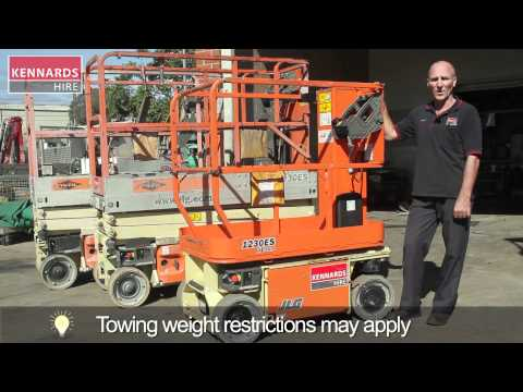 Hire MANLIFT 3.69M (12FT) SELF PROPELLED
