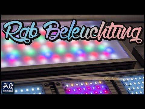 DIE BESTE BELEUCHTUNG   Bessere Farbwiedergabe mit RGB LED Beleuchtung   AquaOwner
