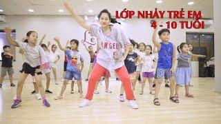 Lớp nhảy cho trẻ em tại Hà Nội - Tại sao cho con học nhảy