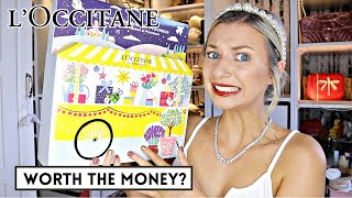 L'OCCITANE BEAUTY ADVENT CALENDAR 2020 / *Is this actually worth the money?*
