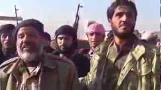 preview picture of video 'كلمة  هامة لقائد جيش الإسلام  بعد تحرير حقل العمر النفطي'