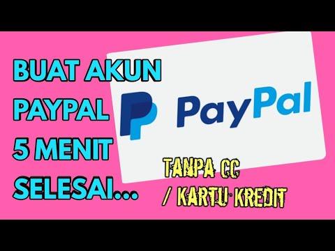 CARA DAFTAR AKUN PAYPAL GRATIS TANPA VERIFIKASI HINGGA MENGHUBUNGKAN KE BANK LOKAL INDONESIA