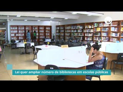 Lei quer ampliar número de bibliotecas em escolas públicas - 30/07/2021