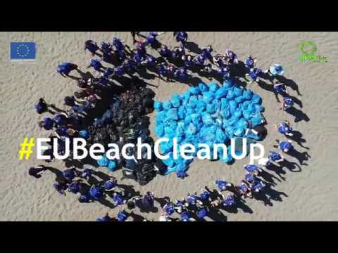Pastrimi i Plazhit të Spillesë/ EU Beach Cleanup in Spille Albania