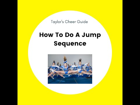 Instructions for how to do a jump sequence!
