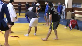 HARD TRAINING IN RUSSIA JUDO TEAM U21