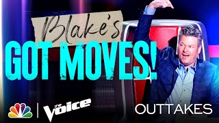Blake's Got Serious Dance Moves, Kelly Keeps Laughing and More - The Voice Knockouts 2021 Outtakes