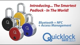 The First Bluetooth + RF Padlock in the World!