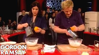 How to Make Mandarin Cheesecake – Gordon Ramsay