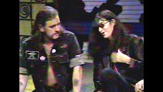 Joey Ramone & Lemmy mock Morrissey 1992