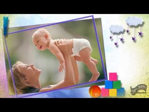 Поздравление на 1 год мальчику (слайд-шоу)
