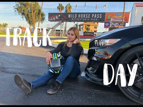 Track Day 1 Vlog With My 2018 Ford Shelby GT350