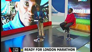 Score Line:Kenyans ready London Marathon