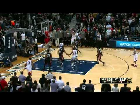 Heat vs Hawks - 1/5/12 Recap & Highlights