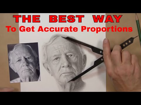 realistic drawing tutorial getting proportions drawn correctly
