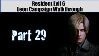 Resident Evil 6 Walkthrough (Leon Campaign) Pt. 29 - Ending