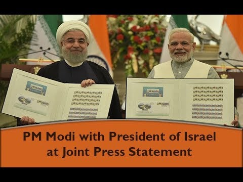 Press Statement by PM Modi during state visit of President of Iran