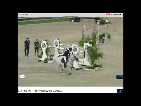 3rd place for Jos and Caracas in the LR 1m60 GCT Grand Prix of CSI5***** Stockholm