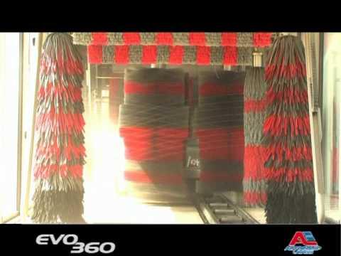 Autolavaggio Autoequip TUNNEL EVO 360 Youtube
