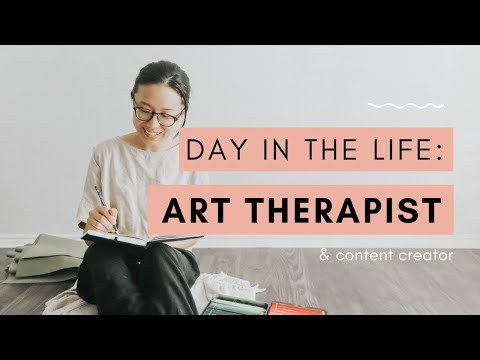 Day in the Life of an Art Therapist - YouTube