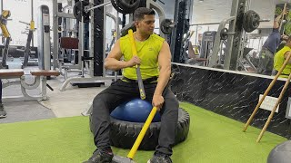 Go Pro Hero 9 Action Camera Gym Workout Video