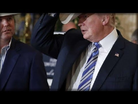 Right After Trump Was Handed A Cowboy Hat, He Did Something That Made Crowd Go WILD