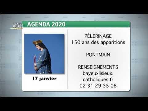 Agenda du 28 décembre 2020