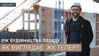 Construction progress of Apartment complex Viking Park